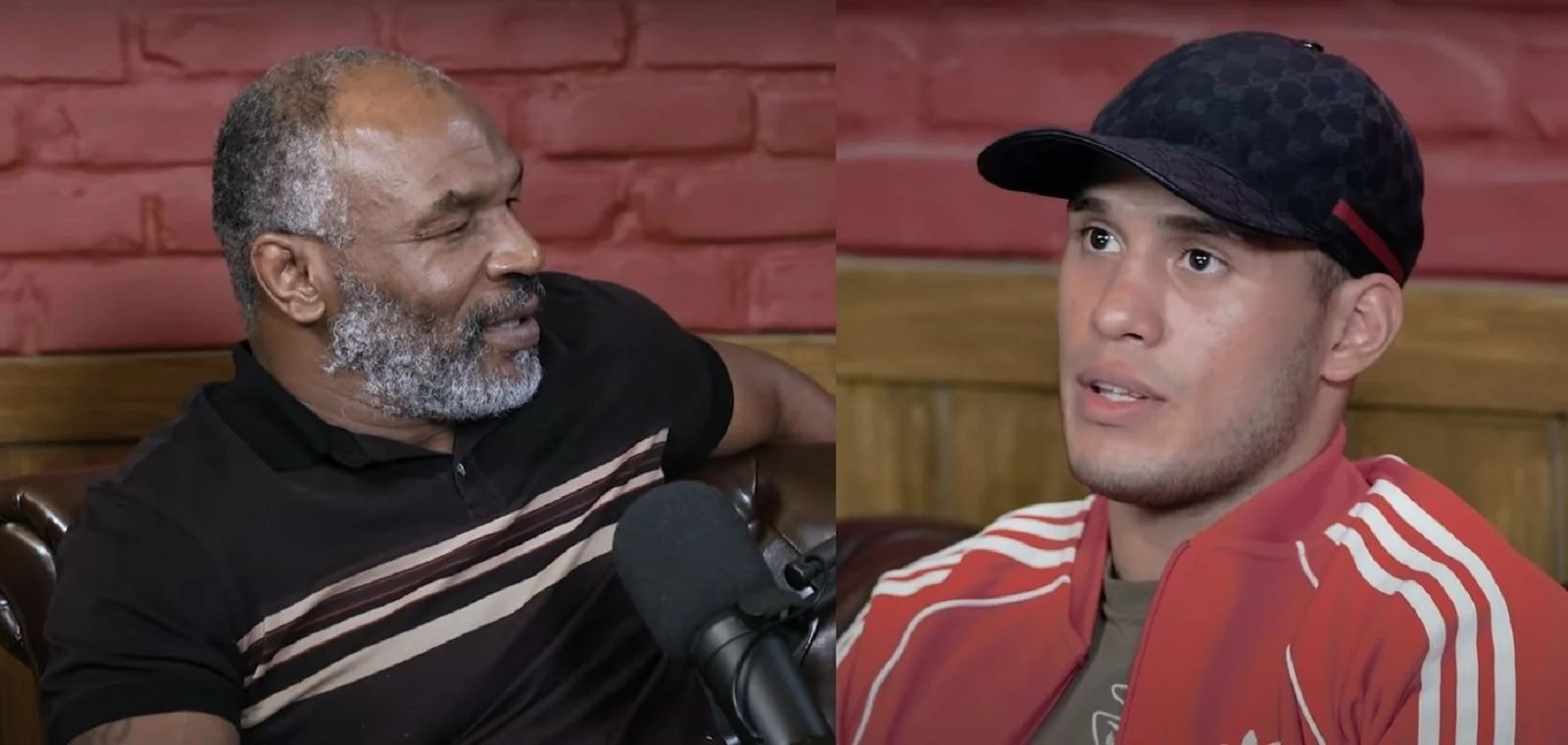Watch: Mike Tyson Meets Youngest Super Middleweight Champion Ever