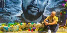 Son Of Boxing Legend Shares Incredible Mural Of Brother