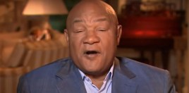 George Foreman Reacts To New Heavyweight Champion