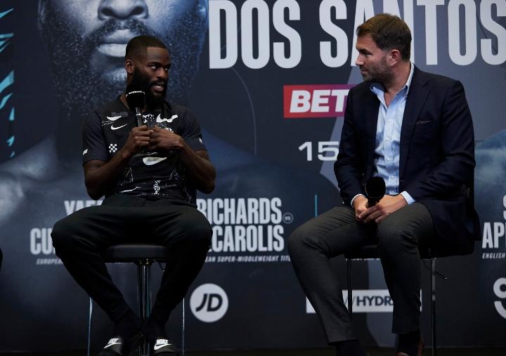 Joshua Buatsi, Daniel Blenda Dos Santos - Face To Face, Final Presser