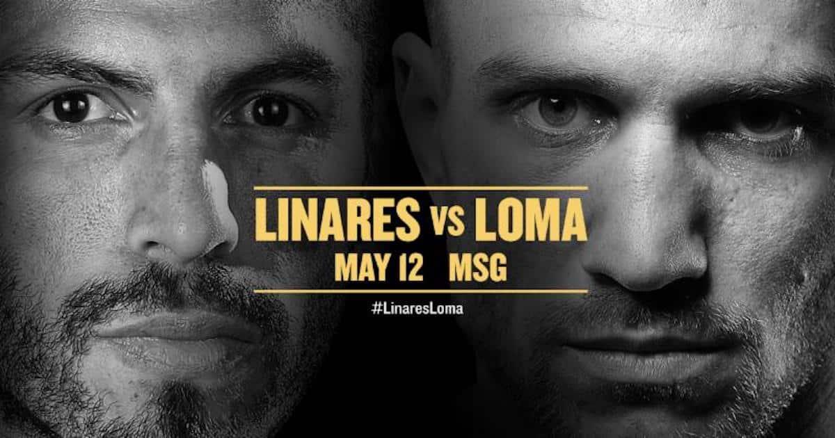Lomachenko vs Linares – May 12 – MSG, New York