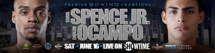 Spence Jr vs Ocampo – June 16 – Frisco, Texas @ Frisco, Texas | Frisco | Texas | United States