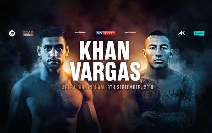 Khan vs Vargas -  September 8 - Birmingham @ Birmingham | Birmingham | Alabama | United States