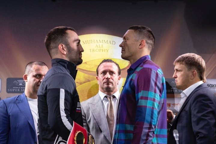Usyk vs Gassiev -  July 21 - Moscow, Russia @ Moscow, Russia | Moscow | Russia