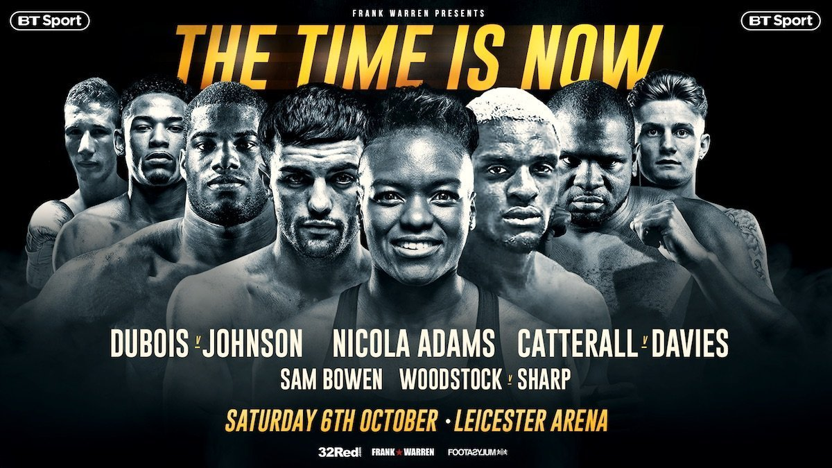 Davies vs Catterall - October 6 - Leicester @ Leicester  | Leicester | England | United Kingdom