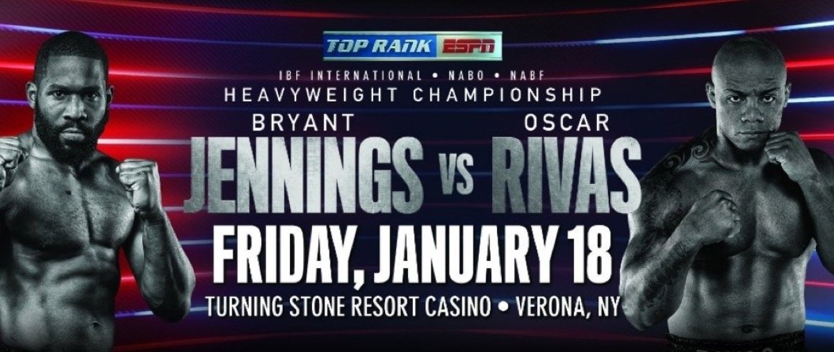 Jennings vs Rivas - January 18  - Verona, N.Y. @ Verona, N.Y. | Verona | New York | United States