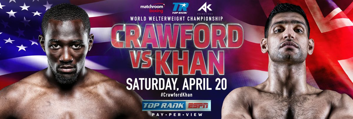 Crawford vs Khan – April 20 – ESPN PPV