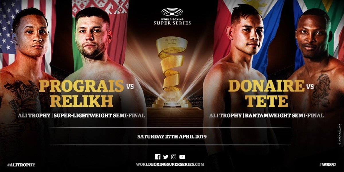 Donaire vs Tete  - April 27 - DAZN