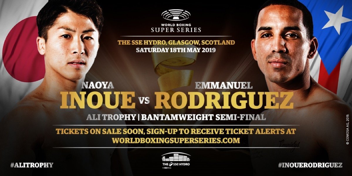 Inoue vs Rodriguez   - May 18 - Glasgow @ The SSE Hydro Glasgow | Scotland | United Kingdom