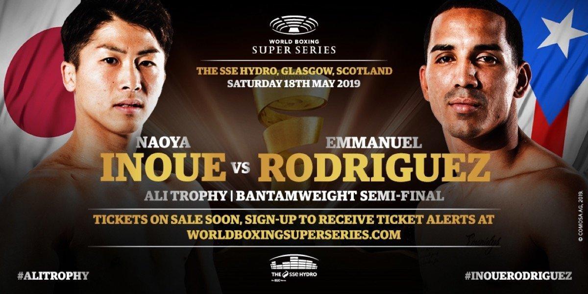 Inoue vs Rodriguez   - May 18 - DAZN @ The SSE Hydro Glasgow | Scotland | United Kingdom