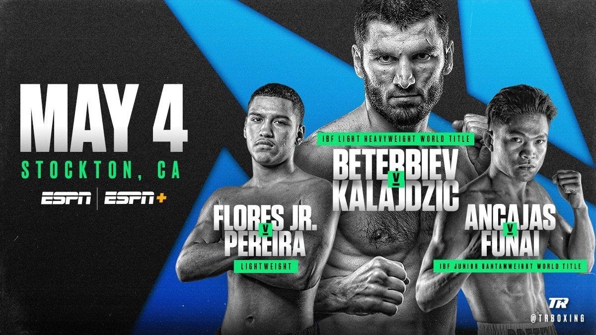 Beterbiev vs Kalajdzic - May 4 -  ESPN @  Stockton Arena | Stockton | California | United States