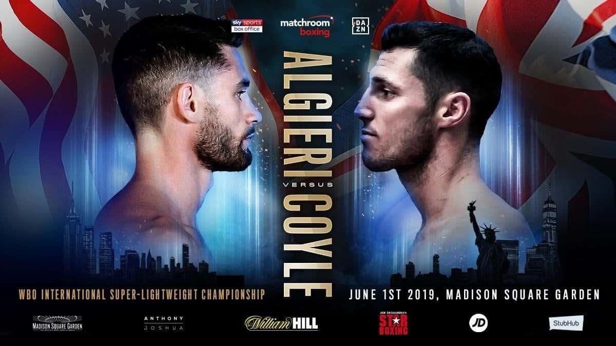 Algieri vs Coyle - June 1 - DAZN @ Madison Square Garden, New York | New York | New York | United States