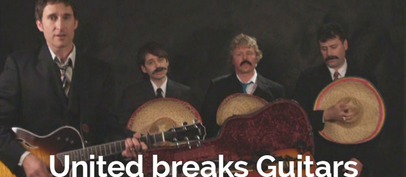 Boxless Media Looks at United Breaks Guitars