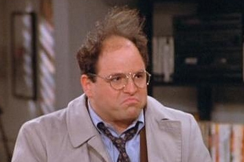 George Costanza was terrible at this.