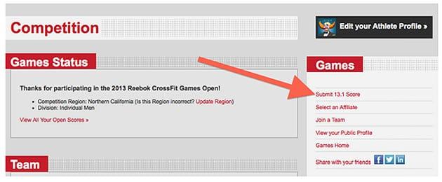 CrossFit Open 3