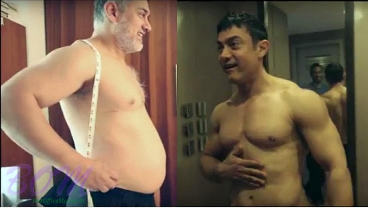 Aamir Khan from Fat to Fit for Dangal