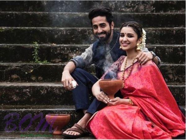 Ayushman Khurana and Parineeti Chopra looking cute together