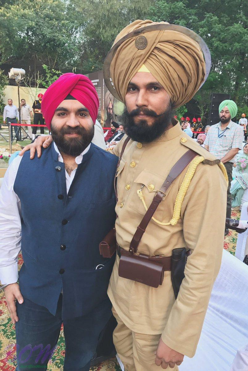 Randeep Hooda first look from movie Battle of Saragarhi