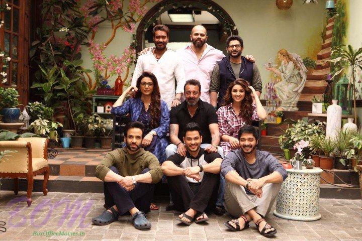 Sanjay Dutt visits the sets of Golmaal Again