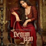 Vidya Balan Starrer BEGUM JAAN Movie First Poster