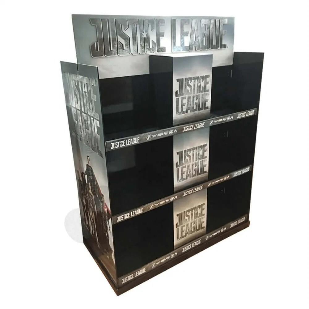 large custom cd dvd display rack pallet