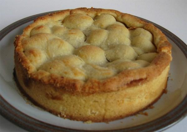 Gooseberry pastry pie