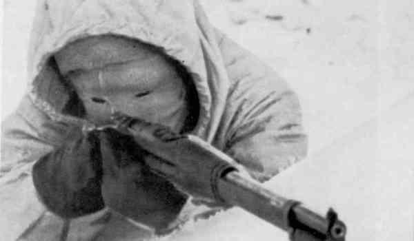 シモ・ヘイヘの狙撃スタイル