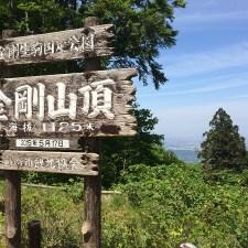 スマホ用登山アプリ「山と高原地図」で金剛山に登ってみた。※画像大量