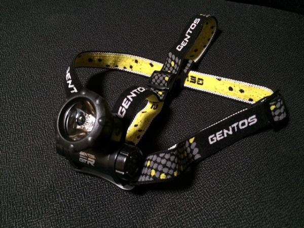 GENTOS(ジェントス) リゲルヘッドライト 【明るさ45ルーメン/実用点灯8時間】