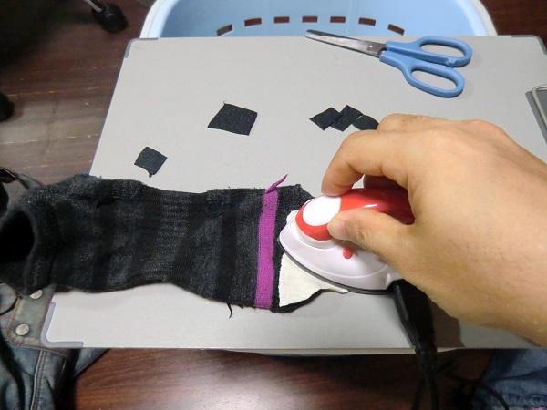 靴下補修布