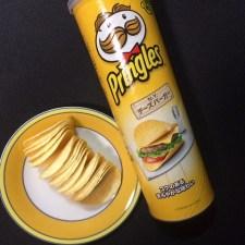 プリングルスのNYチーズバーガーが予想以上にチーズバーガーだった。
