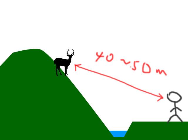 心に残る狩猟シーン3 発砲後に視覚以外の情報で命中を確信したお話