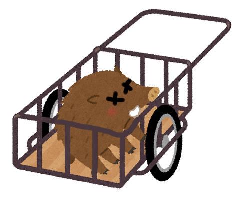 原付バイク+リヤカー。二輪車の牽引で獲物運搬を検討してみる