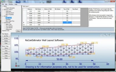 recon layout software