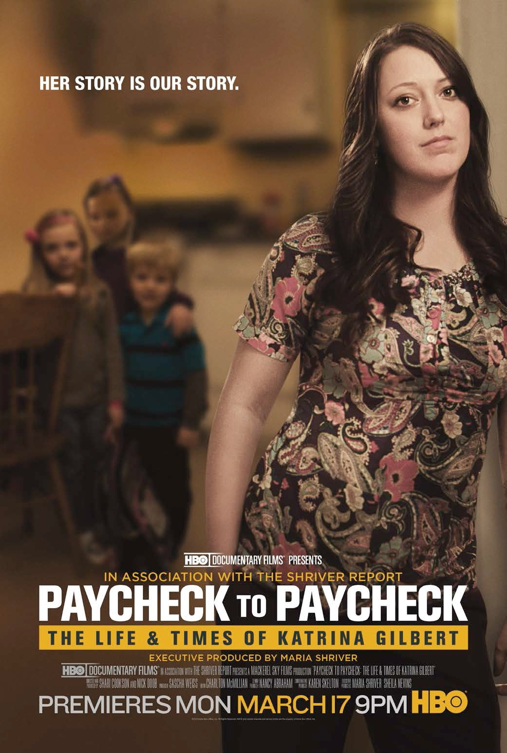 Poster do filme Paycheck to Paycheck: The Life and Times of Katrina Gilbert