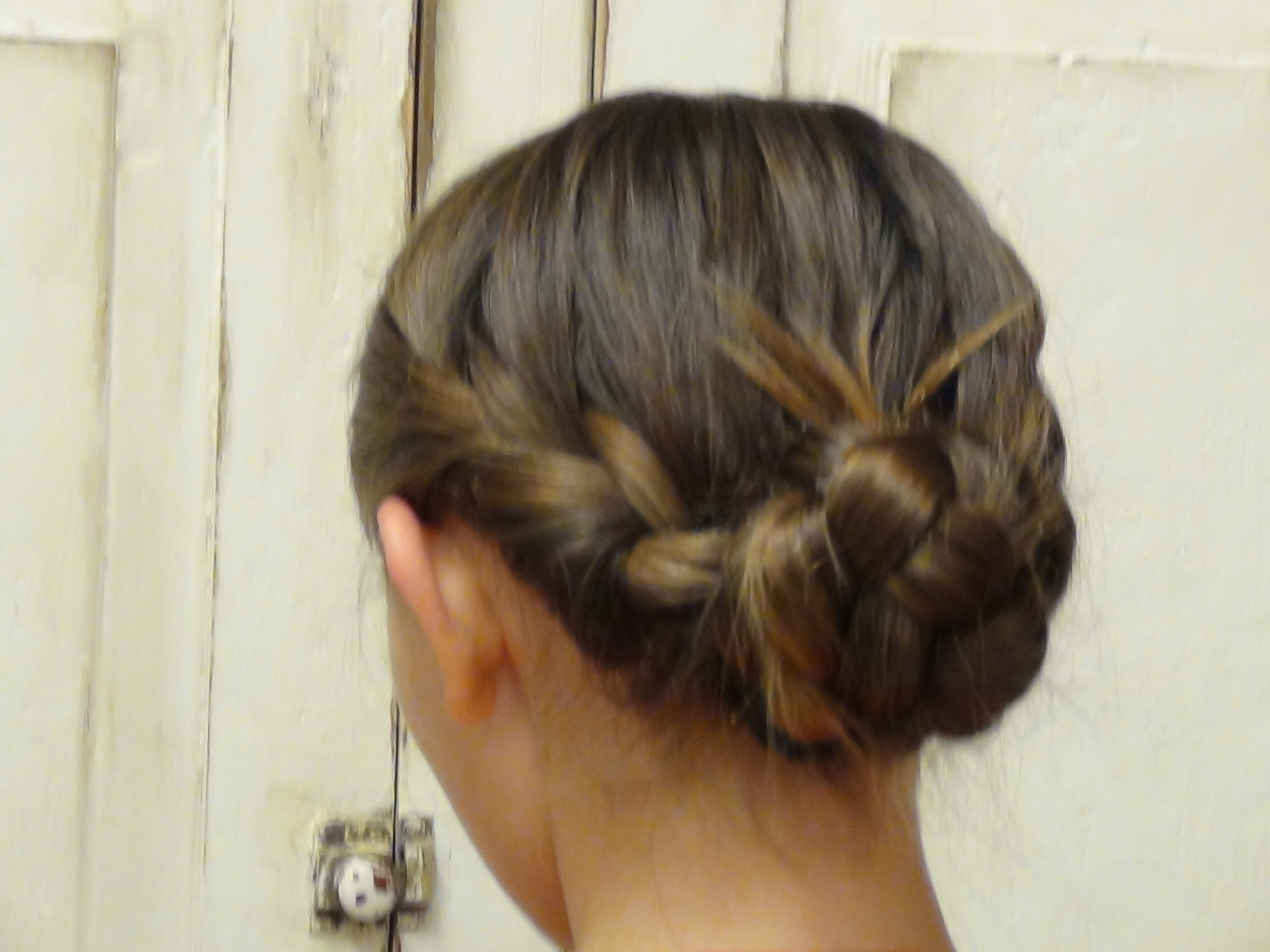 Double French Braid Messy Bun Boys And Girls Hairstyles