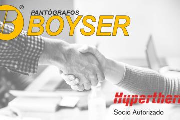 Pantógrafos BOYSER es socio autorizado Hypertherm