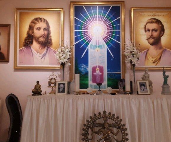 Easter Altar Decoration