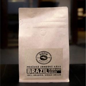 Prazena zrnkova kava - Brazil Cerrado Dulce NY2 fine cup single origin arabica