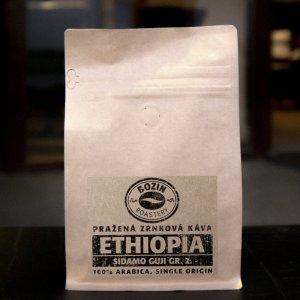 Prazena zrnkova kava - Ethiopia Sidamo Guji single origin arabica