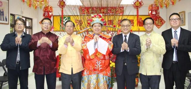劉皇發連同經民聯成員恭祝全港市民馬年吉祥、福壽齊來。