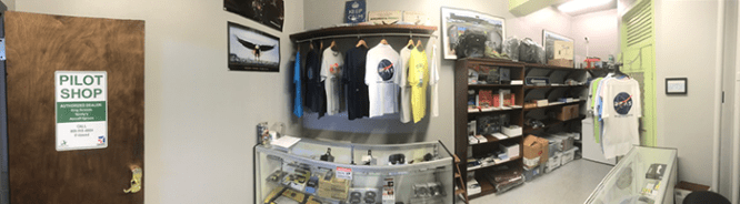 Panorama of the whole shop