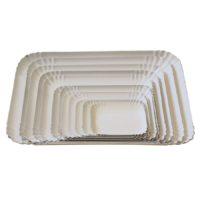 BP vassoio pasticceria classico a bordo alto bianco 02