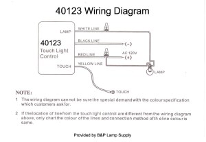 LoMedHiOff, Touch Lamp Control Switch 40123 | B&P Lamp