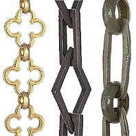 Decorative Lamp Chain For Chandeliers Swag Fixtures