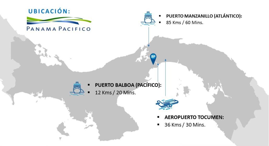 Strategic Location in Central America for Regional Logistics Operations