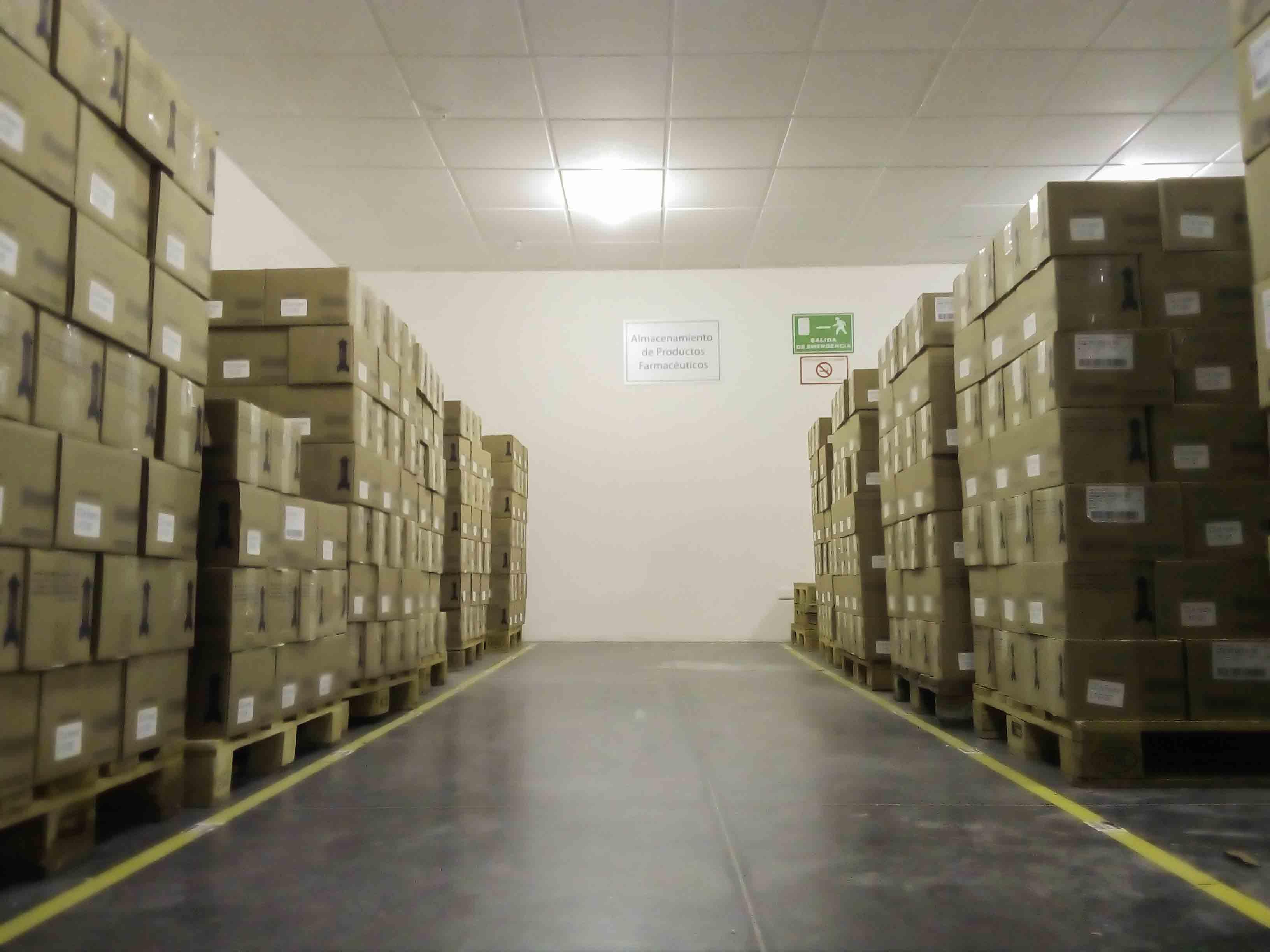 almacenaje, farmacéuticos, bp logistics
