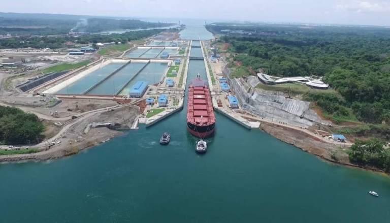 Medidas de ahorro de agua del Canal de Panamá arrojan resultados positivos