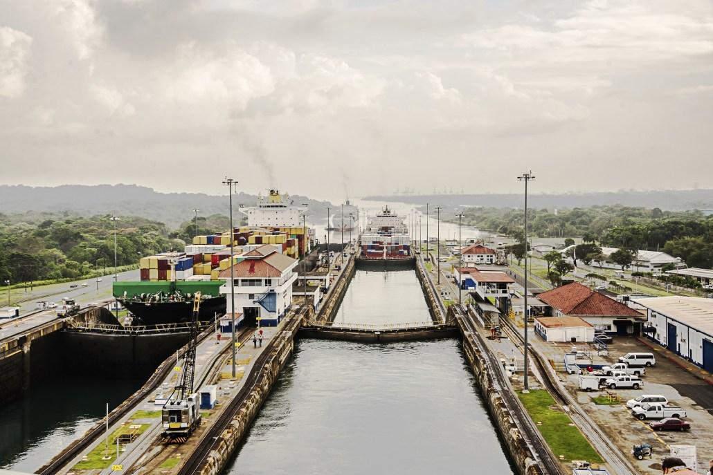 El Canal de Panamá celebra 100 años de haber cortado la cinta