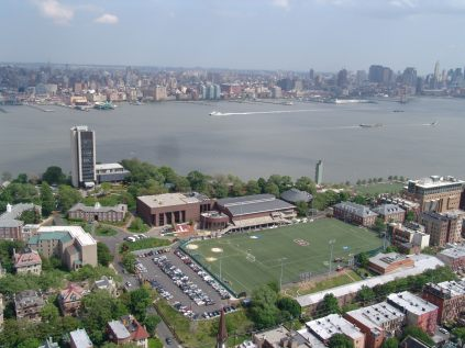 Stevens Campus overlooking Manhattan